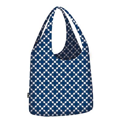 Ecozz Blue Squares Little Big Bag