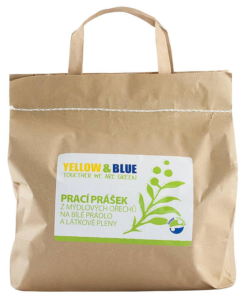 Yellow & Blue Prací prášek na bíle prádlo a látkové pleny Hmotnost: 2,5kg