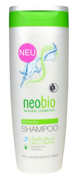 NEOBIO Šampon Sensitiv Bio aloe vera 250 ml