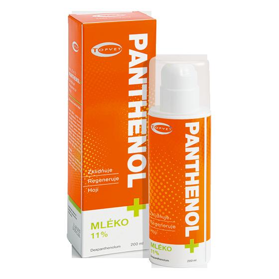 TOPVET Panthenol mléko 11% 200ml
