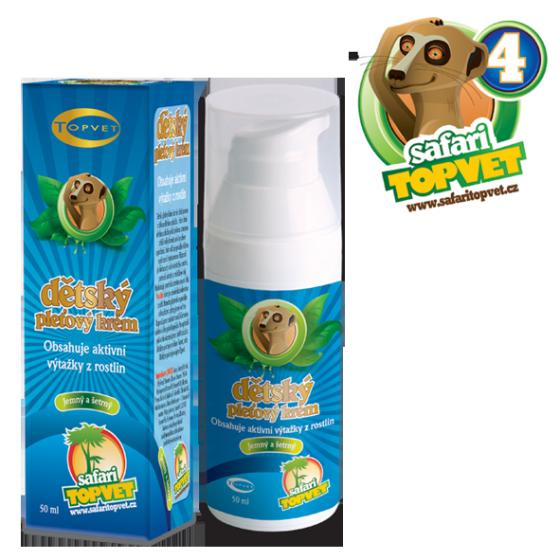 TOPVET Safari - Dětský pleťový krém 50ml