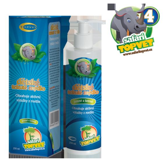TOPVET Safari - Dětské tekuté mýdlo 250ml
