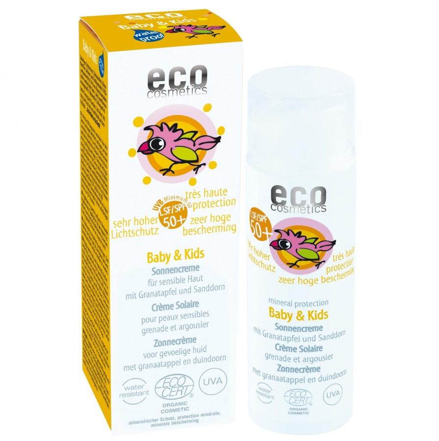 ECO Cosmetics ECO Baby slunečný ochranný krém SPF 50 - 50ml