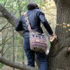 Taška přes rameno NEPAL velká čokoládová