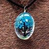 Dárková sada strom života - modrozelený
