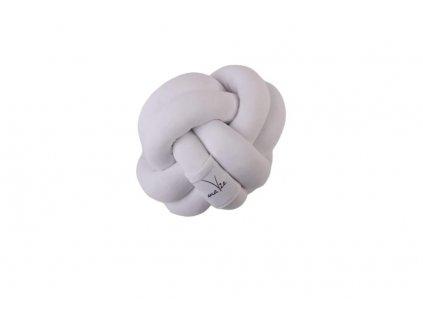 Pletený ball bílý