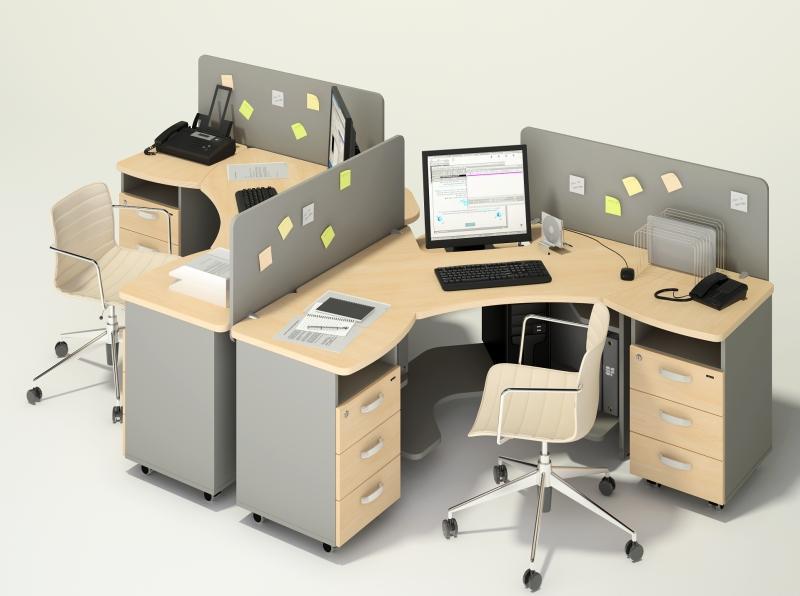 Kancelářský nábytek - ucelené bloky
