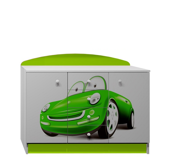 Dětský pokoj GREEN CARS