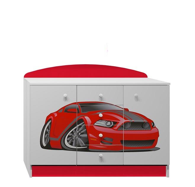 Dětský pokoj RED CAR
