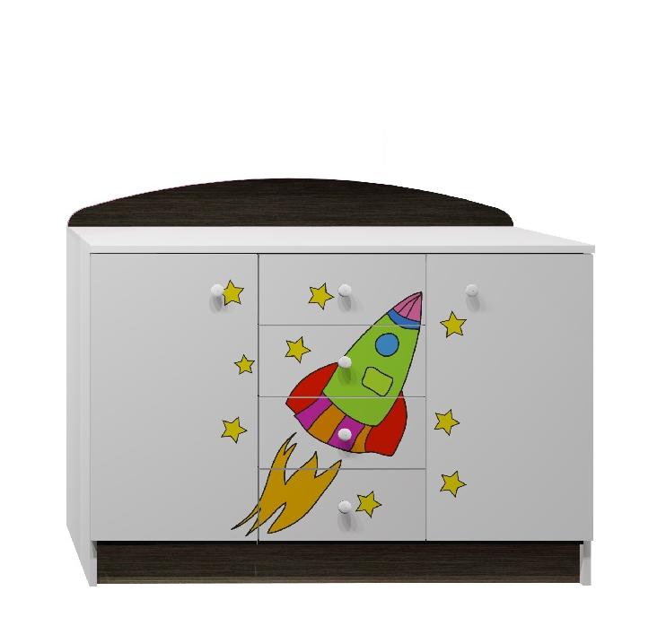 Dětský pokoj SPACE ROCKET