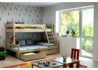 Patrová postel Rudolf  + rošt