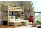 Patrová postel s přistýlkou Zita