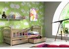 Dětská postel se zábranou Karina  + rošt zdarma