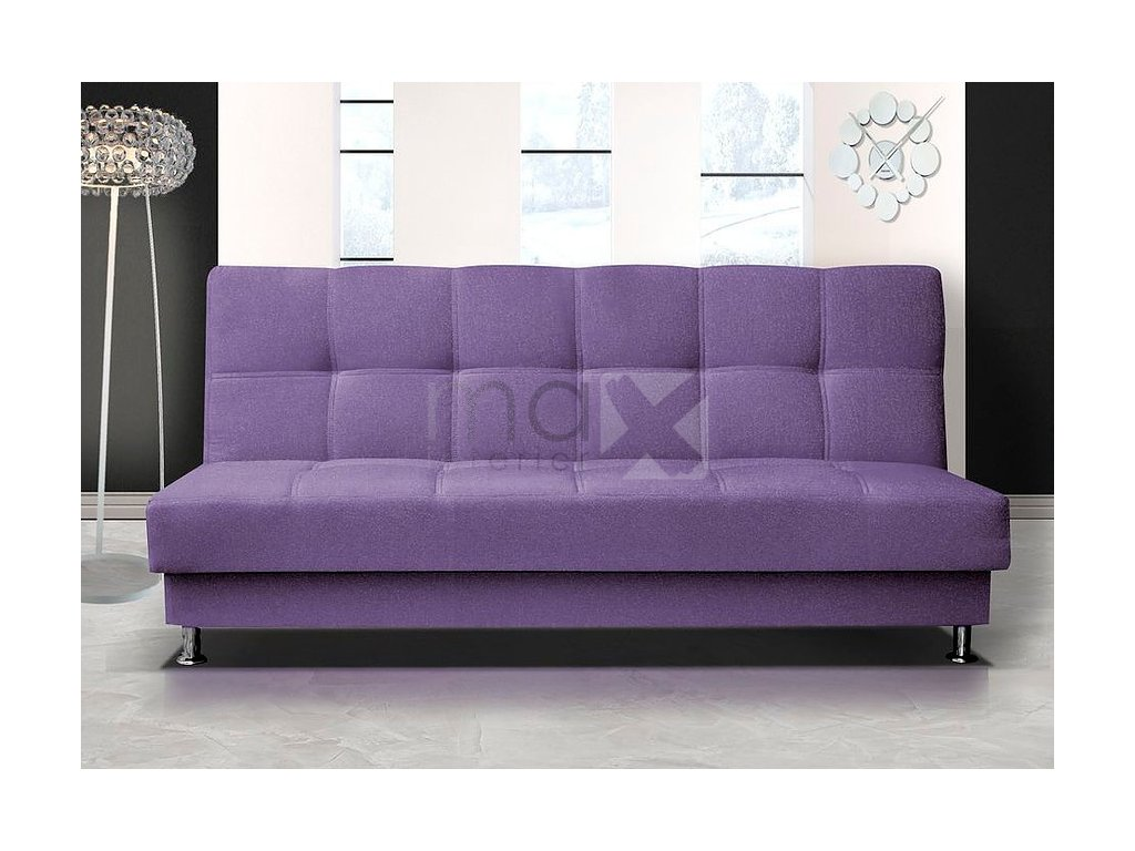 Pohovka Dream III B fialová