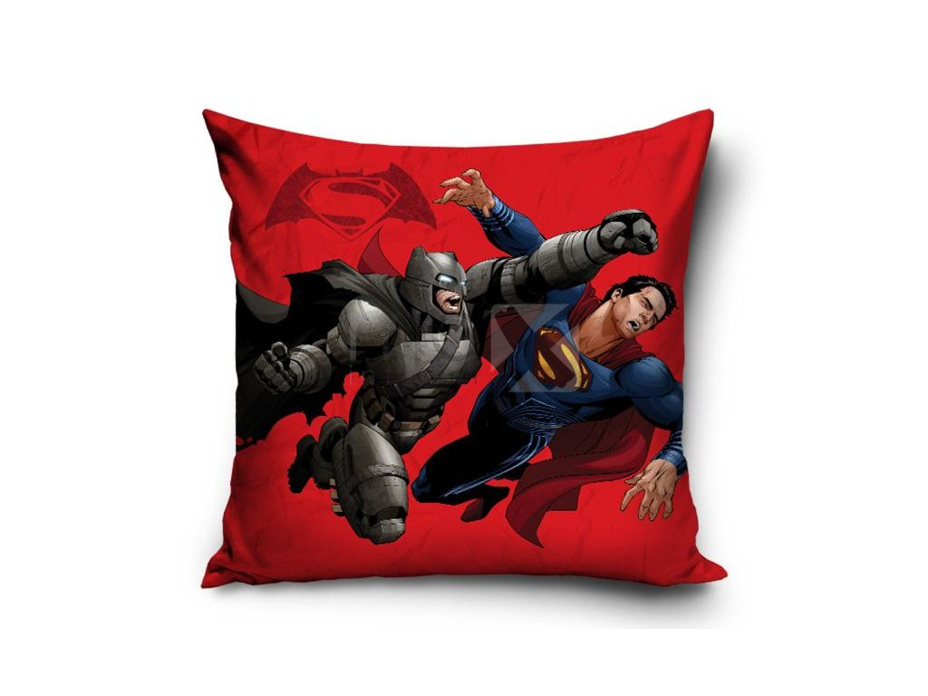 Dětský polštář  BATMAN V SUPERMAN