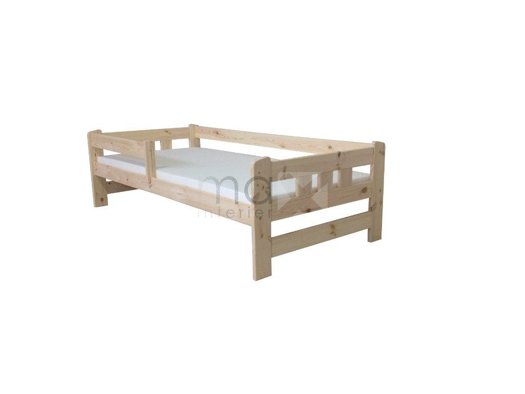 Dětská postel se zábranou GABI vč. roštu