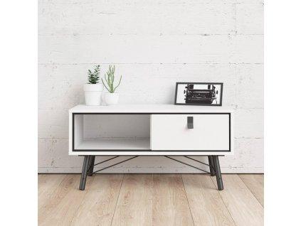 Konferenční stolek Rain 009 bílý MAT