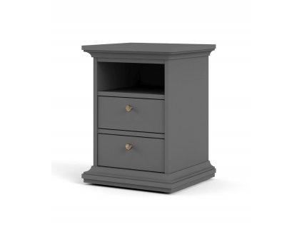 Noční stolek Provence 302 grey MAT