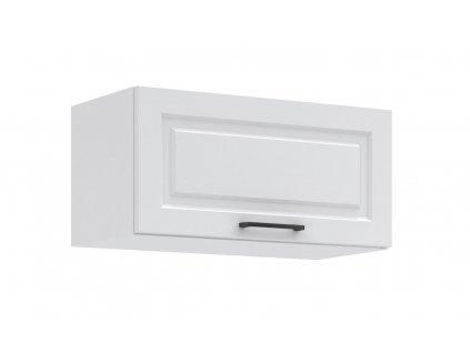 Kuchyňská skříňka nad digestoř Irma KL60-1D bílá MAT