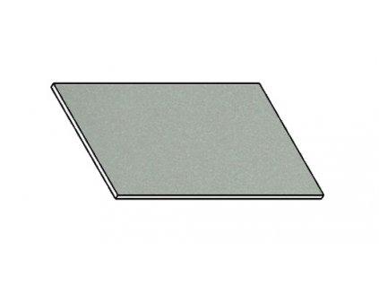 Kuchyňská pracovní deska 20 cm šedý popel (asfalt)