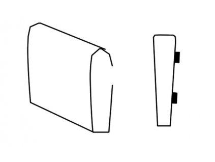 Segment bok B SELECT levý, látky A1