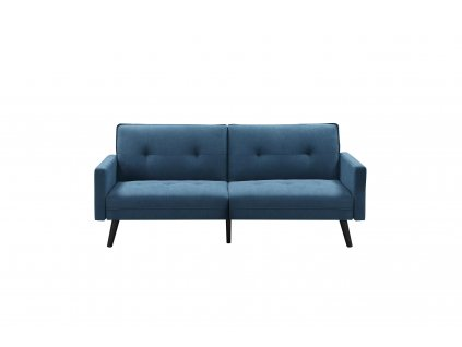 Rozkládací pohovka CORNER, barva: modrá