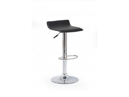 Barová židle H1, barva: černá