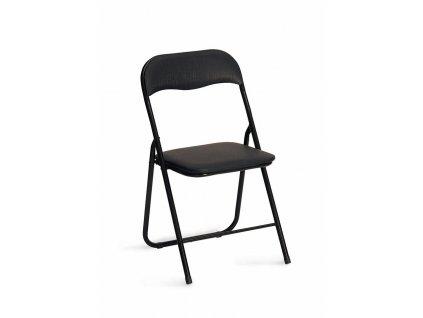 Skládací židle K-5 (černá)