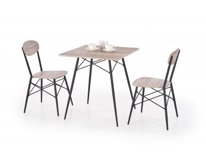 Jídelní stůl KABIR +  2 židle