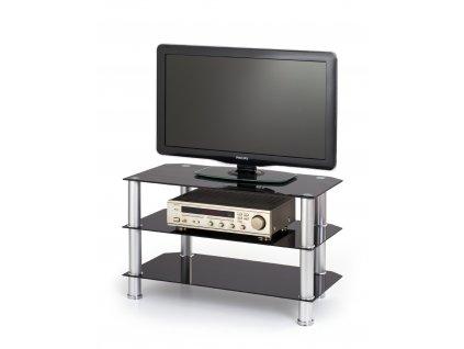 TV stolek RTV-21, barva: černá