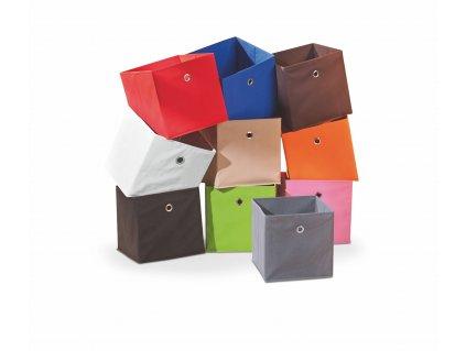 Dětský úložný box WINNY,  barva: červená