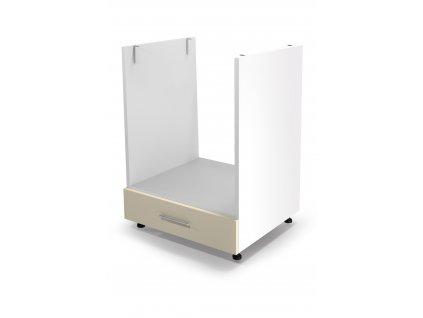 Spodní sporáková skříň VENTO DP - 60/82, barva: bílá / béžová