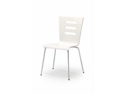 Jídelní židle K155, barva: bílá