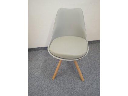 Jídelní židle K201, barva: khaki