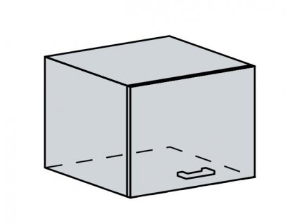 50VP h. skříňka výklopná VALERIA bk/wenge