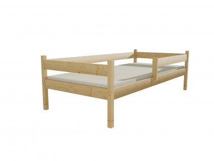 Dětská postel DP 027 90 x 200 cm, bezbarvý lak
