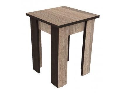 Jídelní stolička GENEVA sonoma trufel/wenge