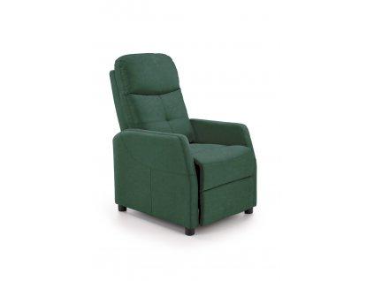 Křeslo FELIPE 2, barva: tmavě zelená