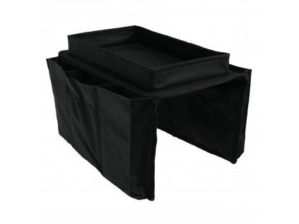 Organizér na pohovku, černá, IPRES