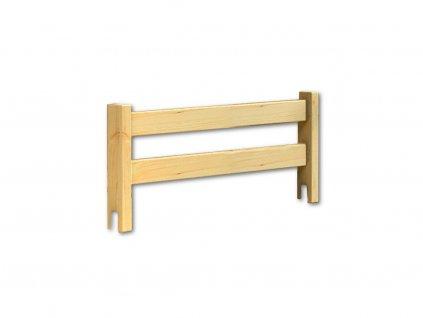 Zábrana na postel  masiv borovice