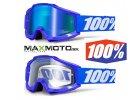 Okuliare 100% ACCURI Reflex Blue