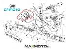 Brzdova packa prava s uchytom CF MOTO Gladiator X5 X6 X8 X550 RX510 RX530 9010 080600 1