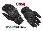 rukavice DAX ATV OFFORAD kross čierne s chráničami