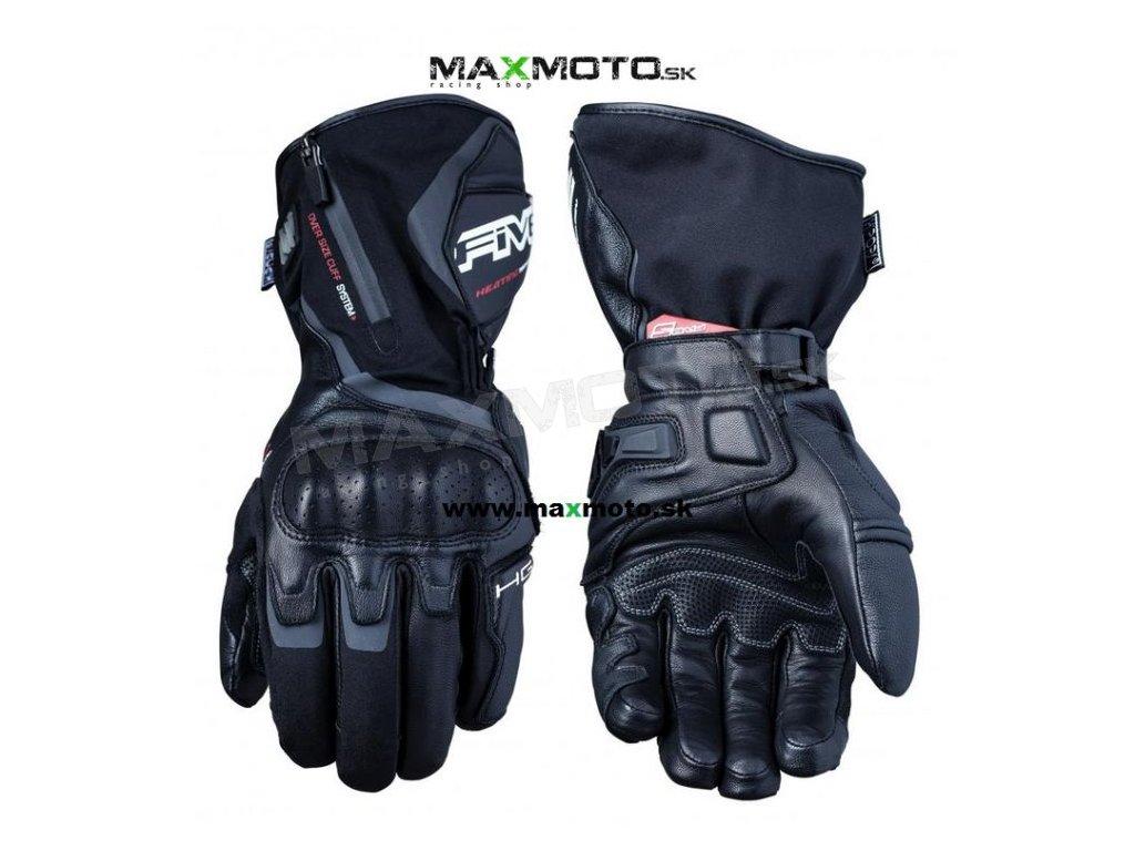 b1815f6135 Vyhrievané rukavice FIVE HG1 WP čierne - MAXMOTO.SK