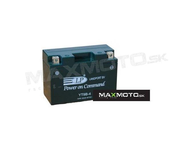 Batéria LP YT9B-4/ GT9B-4, 8Ah, 12V, 150x69x105mm
