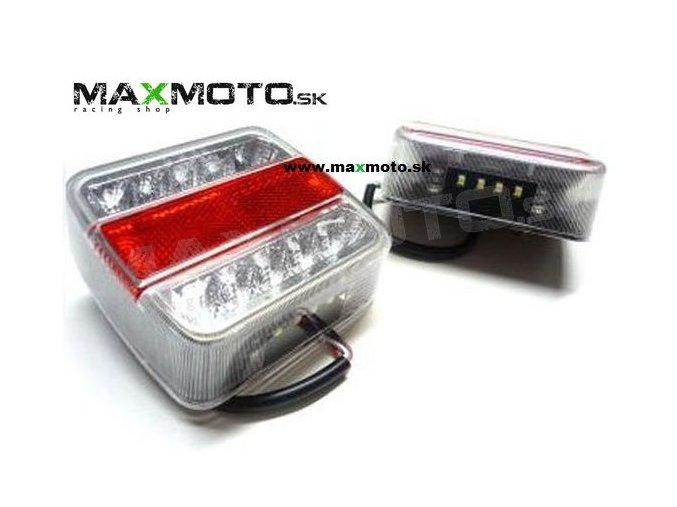 Zadne LED svetlo L1070 BL 10xLED 12V 1