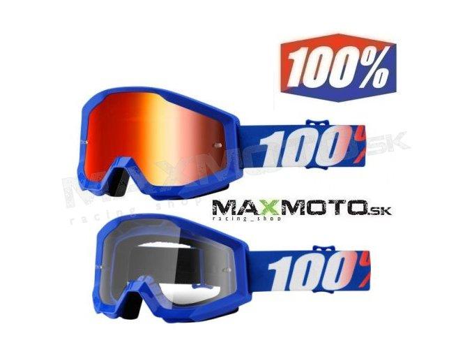 Okuliare 100% STRATA NATION 26012421 26012429