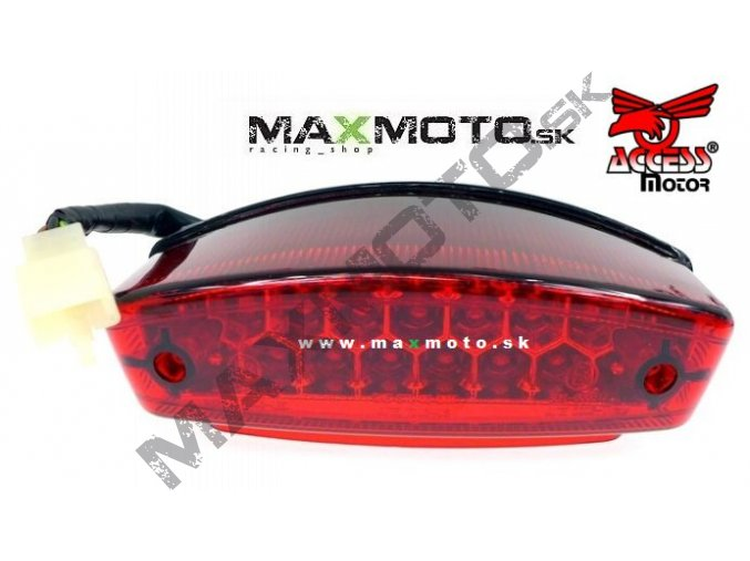 Zadne svetlo ACCESS Tomahawk 250 300 400 MAX4 MAX5 Warrior 450 62210 A01 000