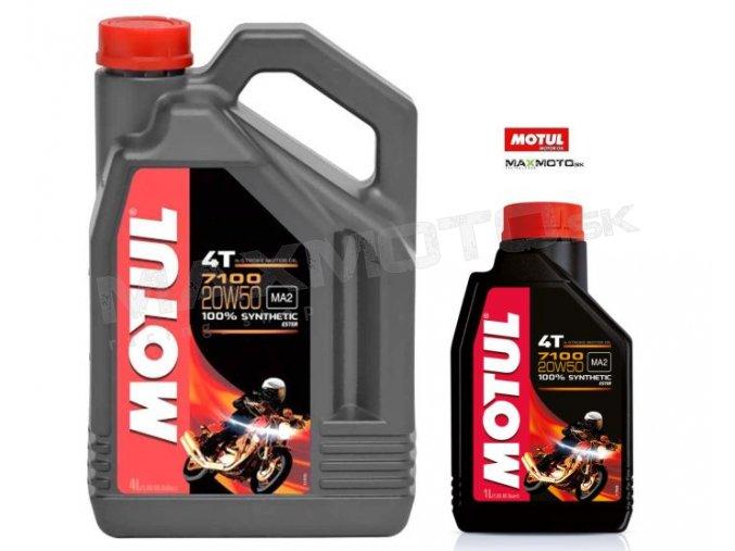 Olej MOTUL 7100 4T 20W50