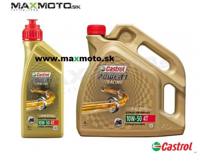 Olej CASTROL POWER 1 4T 10W50 1L 4L